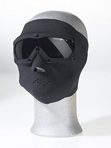 Swiss Eye Neoprene Face Mask with Smoke Lens - Black by Swiss Eye