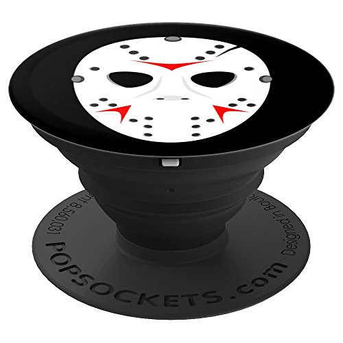 Horror Movie Killer Hockey Mask - PopSockets Grip and Stand for Phones and Tablets -