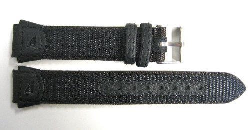 18 mmレザー/ナイロンFS Watch Band Fits Timex Ironman / Expedition  B008KA8E4G