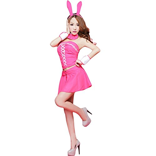 YiZYiF Women Bunny Girls Costume Cosplay Dress Sexy Lingerie Outfits - Catwomen Outfits