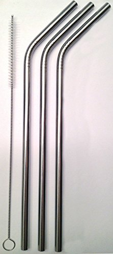 3 Stainless Steel Drinking Straws + Clea - Flexi Royal Silicone Shopping Results
