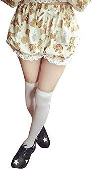 Una Adult Baby Lolita Bloomer Sissy Bear Printing Short Bloomers