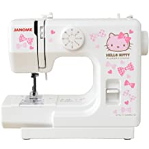 Janome Hello Kitty compact sewing machine white KT-W