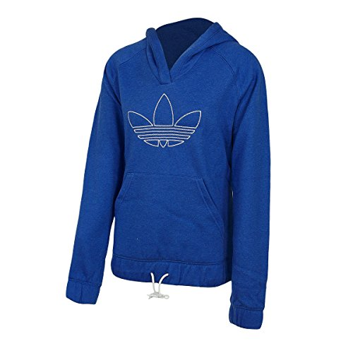 Adidas University Trefoil Hoodie Women true blue melange - 40