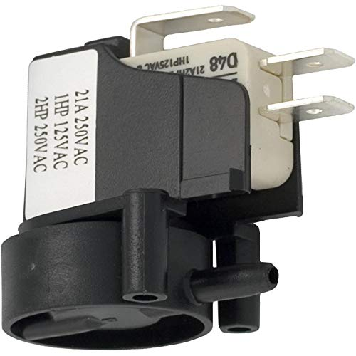 Herga 6871-AOO-U126 SPDT 20A Side Spout Latching Air Switch