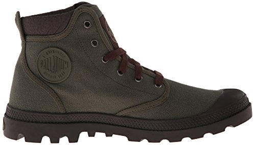 Palladium Pampa Hi Cuff~olive Drab/chocolate~m - Zapatos Hombre Grün (OLIVE DRAB/CHOCOLATE 372)