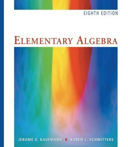"Elementary Algebra, Revised (with Interactive Video Skillbuilder CD-ROM and iLrnâ""¢ Student Tutorial Printed Access Card"