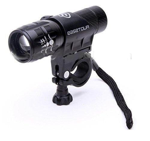 Cheap Easetour Shooter LED Front Bike Light (Black)