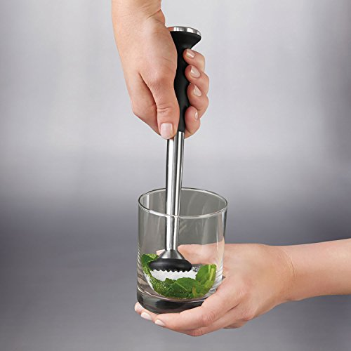 OXO SteeL Muddler with Non-Scratch Nylon Head and Soft Non-Slip Grip by OXO (Image #3)