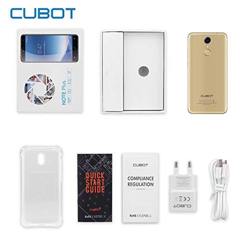 Appearandes CUBOT Note Plus - Smartphone de 5,2 ...