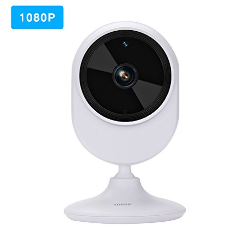 Virtoba 1080P Wireless IP Camera, WiFi Home Indoor Security Camera 120° Wide Angle View Baby Monitor with Night Vision, Two-Way Audio, Motion Detection