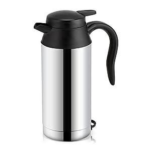 41Ja%2B%2Bbd9eL. SS300 750ml Auto Wasserkocher Edelstahl 12V Zigarettenanzünder Reisewasserkocher, Elektrischer Wasserkocher für Wasser Kaffee…
