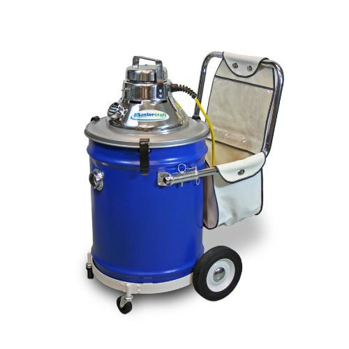 Mastercraft Commercial 1515-W Wet Dry Steel Vacuum
