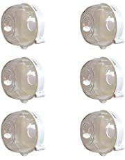 Bopfimer Universal Kitchen Stove Baby Proofing Gas Knob Covers(6 Pack),Stove Knob Covers Baby Safety Oven Gas Stove Knob Locks for Proofing
