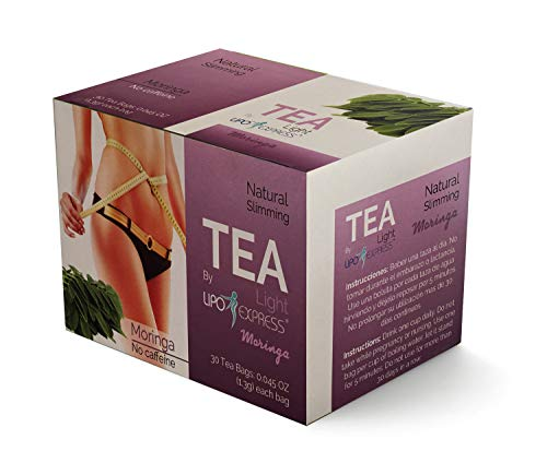 Weight Loss Tea Detox Tea Lipo Express Body Cleanse, Reduce Bloating, Appetite Suppressant, 30 Day Tea-tox, with Potent Traditional 100% Naturals Herbs, Cleanse Your Body (Moringa Tea)