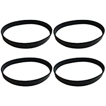 4 Dirt Devil Style 4, 5 & 10 Durable Vacuum Belts Designed To Fit Dirt Devil Fantom Fury, Featherlite, Swivel Glide, Vision Uprights, Compare To Part # 1540310001, 3720310001, 1LU0310X00, 3860140600, Designed & Engineered by Crucial Vacuum