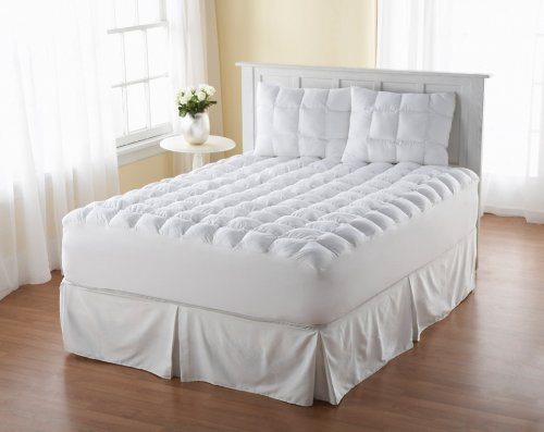 magic-loft-king-size-200-thread-count-down-alternative-mattress-pad-white
