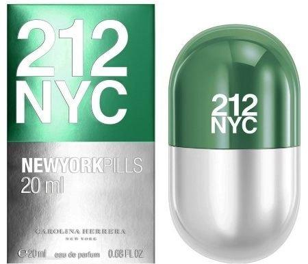 - 212 NYC NEW YORK PILLS by Carolina Herrera 0.68 Ounce / 20 ml Eau de Toilette