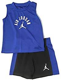Air Infant Boys Tank Top and Shorts Set Black/Royal Size 18 Months