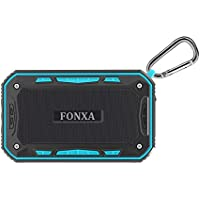 Portable Wireless Bluetooth Speakers with Bicycle Mount FONXA 6W Mini Pocket Outdoor Waterproof Speaker for iPhone / iPad / Smart Phones / Laptops