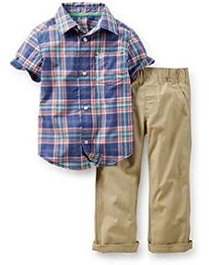 Carter's Baby Boys' 2 Piece Pant Set (Baby)