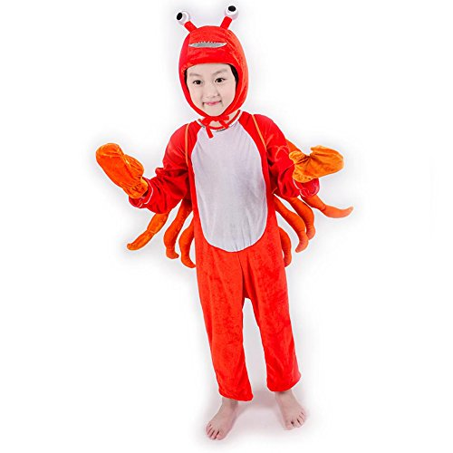 Deluxe Child Unisex Onesie Animal Costumes for Kids School Play Party attach Shoe Cover 4T-16