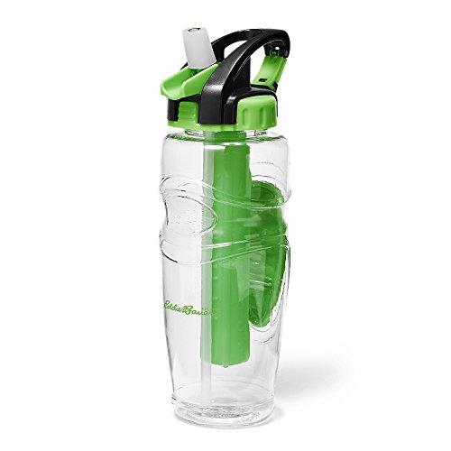 (Eddie Bauer Unisex-Adult 32-Oz. Freezer Water Bottle, Vibrant Green Regular ONES)
