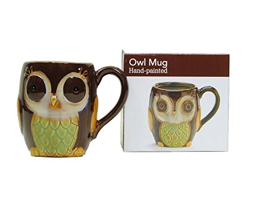 owl cup of coffee - 1