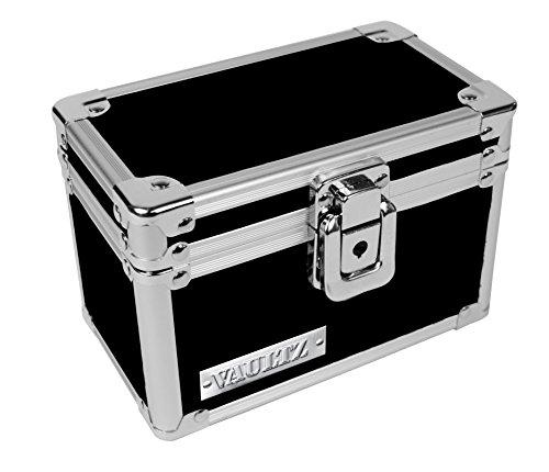 Vaultz Locking Box, 4.25in X 6.25in X 4.0in, Black (VZ01169)