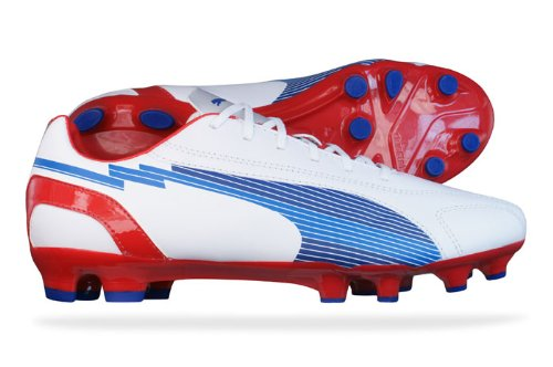 PUMA Evospeed 5 Leather FG weiß