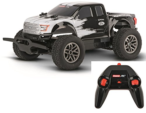 Carrera Ford F150 Raptor Radio Remote Control Vehicle, Black