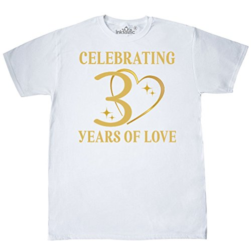 30th Wedding Anniversary (inktastic 30th Wedding Anniversary Gift T-Shirt XXXX-Large White 2d468)