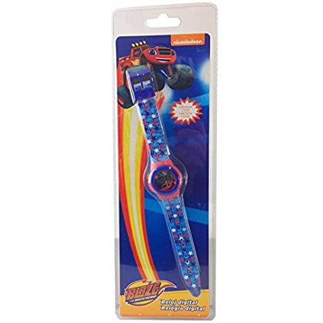Blaze - Reloj Digital en blíster (Kids BL16011)