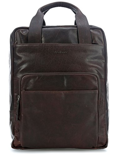 Strellson Coleman 2.0 16 Laptop-Rucksack dunkelbraun dunkelbraun, braun