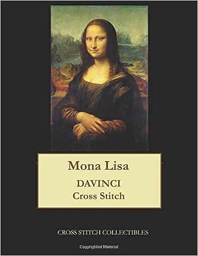 Mona Lisa: DaVinci cross stitch pattern