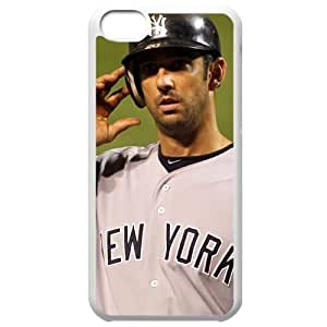 MLB Iphone 5C White New York Yankees cell phone cases&Gift Holiday&Christmas Gifts NBGH6C9125773