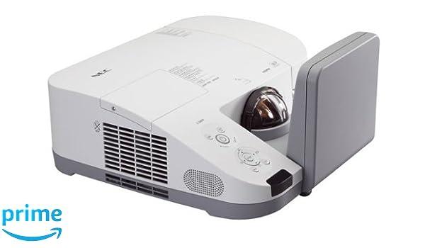 NEC U260W - Proyector (2600 lúmenes ANSI, DLP, WXGA (1280x800 ...