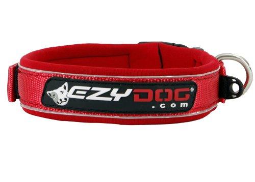 EzyDog Neo Collar, Large, Red, My Pet Supplies