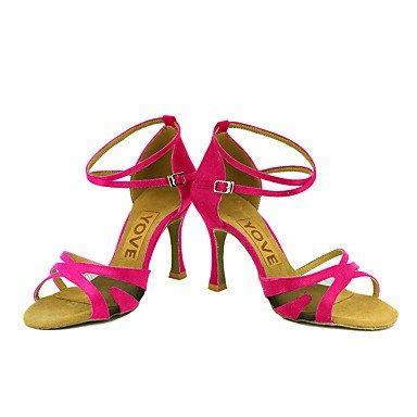 Rojo Personalizado Zapatos Morado Negro Blanco Salsa baile Rosa Pink Tacón Personalizables Azul Latino Amarillo de OErwOxq0Y