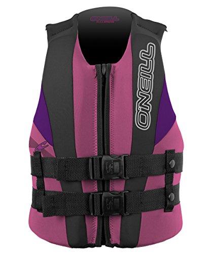 (O'Neill Child Reactor USCG Life Vest, Pet/Col/UV, 30-50 lbs)