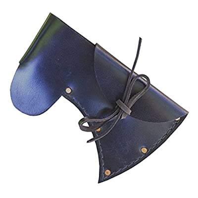 Throwing Tomahawk Sheath - Thrower Supply Brand Leather Hatchet Sheaths - Hand Made by HatchetsandAxes