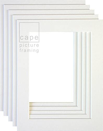 PACK OF 20 10X8 INCH PICTURE FRAME MOUNT BACKING BOARD