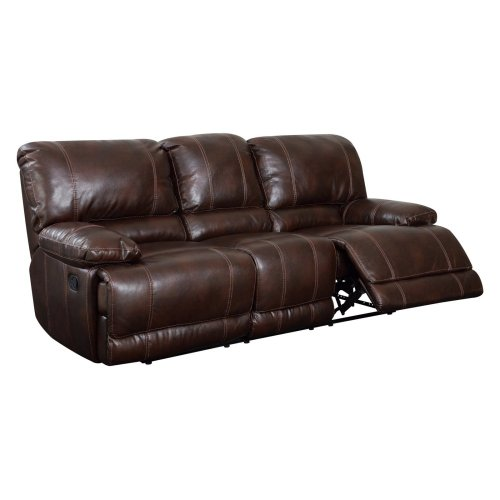 Global Furniture USA U1953-R/S-Global Furniture Piece Recliner Sofa Brown 940 For Sale