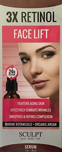 3X Retinol Face Lift Serum by SCULPT