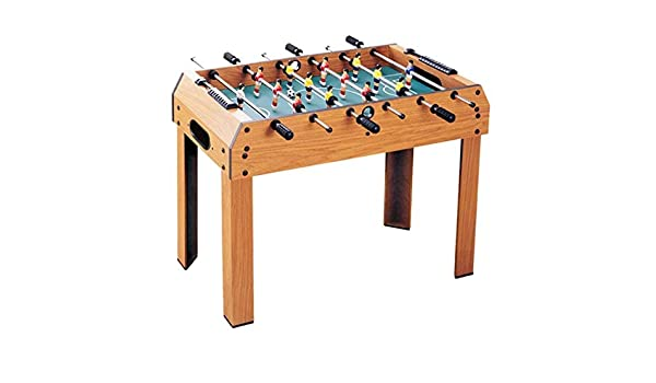 LYATW 37 Pulgadas Fútbol de Mesa, Juegos de Mesa de Madera Tamaño de Fútbol, multijugador Tabla (Color: Marrón, tamaño: 94 * 51 * 75cm): Amazon.es: Hogar