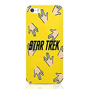 Loud Universe Star Trek Spock iPhone SE Case Spock Pattern iPhone SE Cover with 3d Wrap around Edges