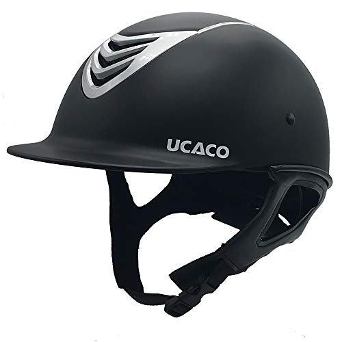 - YLFC Riding Helmet, Performance Helmet, Starter Horse Riding Safety Helmet | Schooling Protective Head Gear for Equestrian Riders - SEI Certified-Tough and Durable(54-62CM)