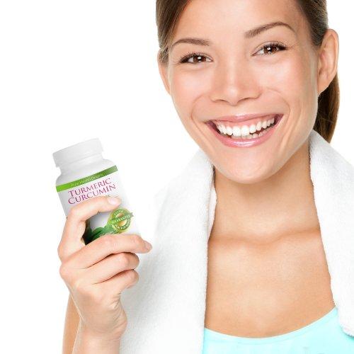 41Ja9n3YxhL - Turmeric Curcumin Capsules   100% NON-GMO Gluten-FREE   Made in USA  