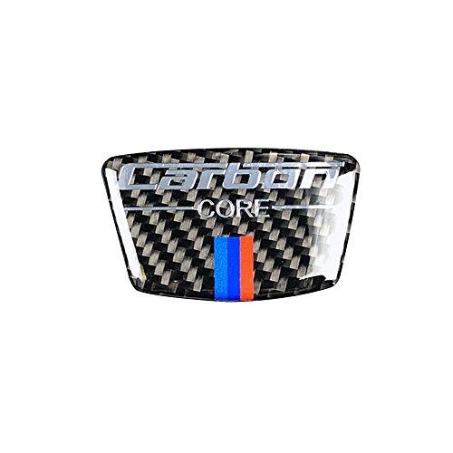 Docooler Carbon Fiber Emblem for BMW E46 E39 E60 E90 F30 F34 F10 1 2 3 5 7 Series x1 x3 x5 x6 Car Stickers B Column Sticker