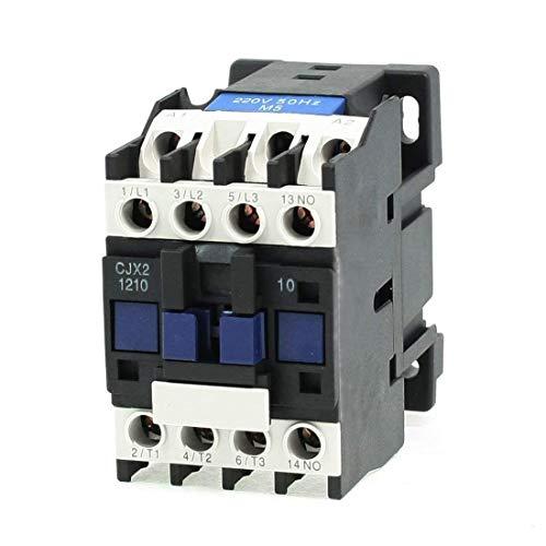 LDEXIN CJX2-1210 220V 25A 50/60HZ Coil Motor AC Contactor 3 Poles Normally Open